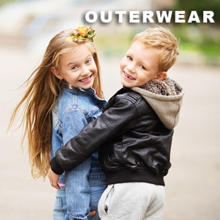Wholesale Children Outerwear Jackets