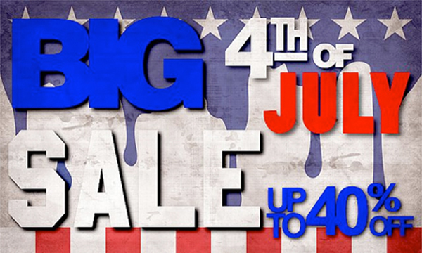 4th of July Big Summer Sale